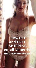 30% Off Lingerie and Swimwear!